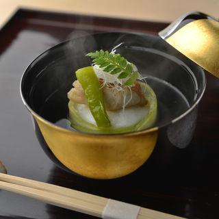 海老真薯(銀座 喰い切りひら山 (ひら山))