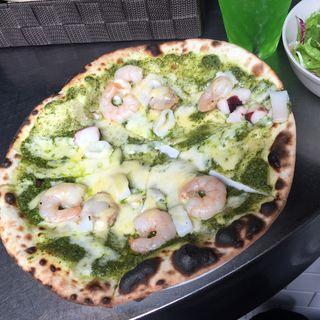 ピザランチ (バジルシーフード)(CONA 渋谷桜ヶ丘店)