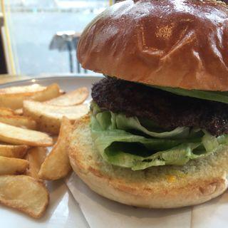 アボガドバーガー(ArmS Park Side Burger Shop)