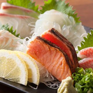 鮮魚の盛り合わせ(サカノバグラン )