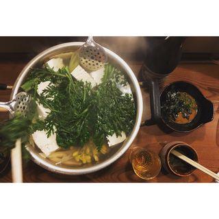 湯豆腐(湯豆腐 ごん兵衛)