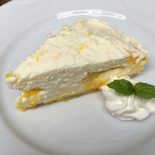 サマーオレンジのレアチーズケーキ(アイランドカフェアンドバー (Island Cafe & Bar))