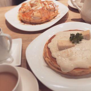 2種のチーズパンケーキ(アクイーユ 横浜店 )