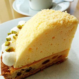 レモンチーズタルト(汐風のカフェ )