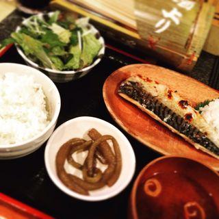 塩鯖定食(酒上り (サカアガリ))