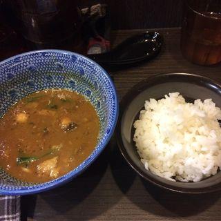 つけ麺カレ変ライス(麺屋神 中川會 (メンヤジンナカガワカイ))