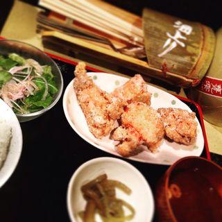 中津唐揚定食(酒上り (サカアガリ))