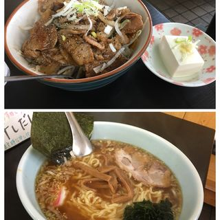 焼肉丼セット(蝦夷 日高店 (エゾ))