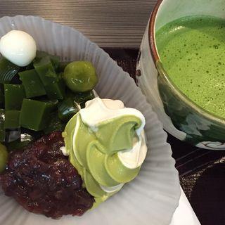 抹茶ゼリー(宇治園 心斎橋本店 )