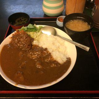 牛すじチキンカツカレー(たんぽぽ )