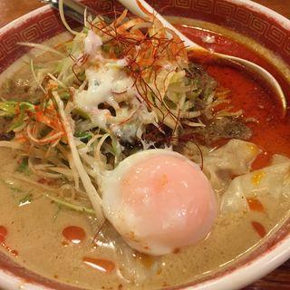 ネギ塩雲呑麺(広州市場 五反田店 (コウシュウイチバ))