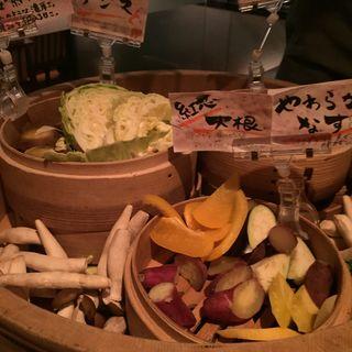 旬野菜の蒸篭蒸し【詰め放題】(郷)