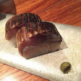 〆サバのあぶり棒寿司(和創作 酔太 )