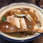 肉かけ(大)(烈志笑魚油 麺香房 三く)
