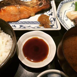 銀じゃけ味噌漬け定食(食彩 かどた)