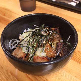 チャーシュー丼(いっぽし)