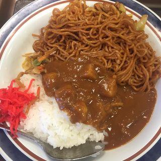 カレー焼きそば(名代 富士そば 大井町駅前店 )