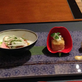 前菜の盛り合わせ(佐賀牛 季楽 銀座  (キラ))