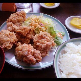 唐揚げ定食(お食事処 国味)