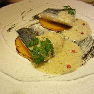 魚のソテー プルレキアソース(ピカポロンツァ )