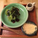 黒蜜わらびもち(kawara CAFE&KITCHEN + plus 渋谷 (カワラ カフェアンドキッチン プラス))