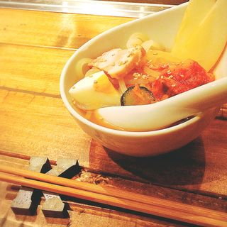 冷麺ハーフサイズ(赤坂焼肉 KINTAN (キンタン))