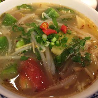 海老甘酸辛スープ(サイゴンマジェスティック)