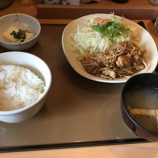 生姜焼き定食(やよい軒 赤羽橋店 )