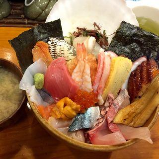 プレミアム海鮮丼(若竹寿司)