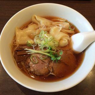 ワンタン麺(珍満茶楼 (チンマンサロウ))