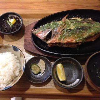 ユメウメイロのバター焼き(糸満漁民食堂 )