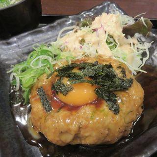 照り焼き鶏つくねハンバーグ定食(炎心 )