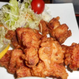 ザンギ定食(炭焼鮮家 たま鳥 )