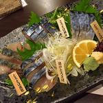 SABARが一番食べて欲しいメガとろさばの造り(SABAR 福島店 (サバー))