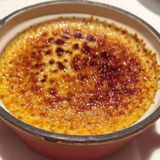 オーブンで焼かないクリームブリュレ(俺のフレンチTable Taku)