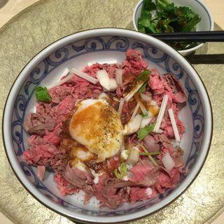 並盛ご飯240g+お肉100g(HAL YAMASHITA大手町lounge (ハル ヤマシタ オオテマチ ラウンジ))