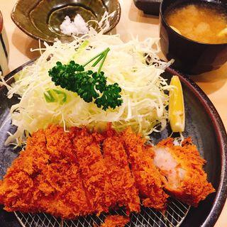 黒豚とんかつ定食(とん亭 (とんてい))