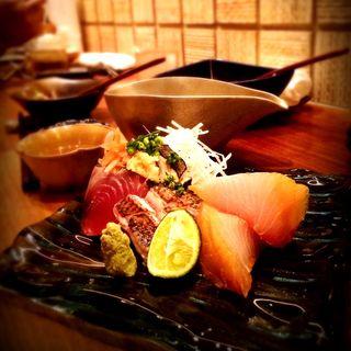 魚のお造り(中戸川)