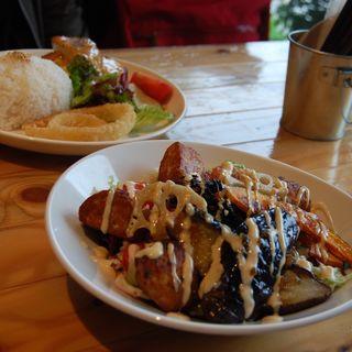 鶏つくね揚げ野菜丼(ハンズカフェ  鹿児島店)