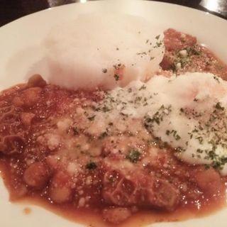 トリッパとひよこ豆の煮込み(ランチセット)