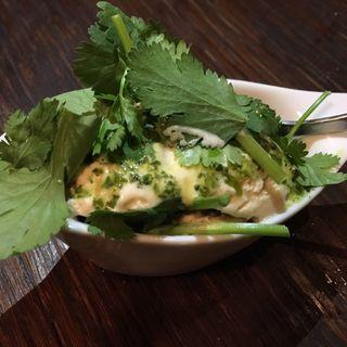 パクチーアイス(ラム&パクチー Salad days)
