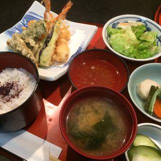 天ぷら定食(菜遊 )