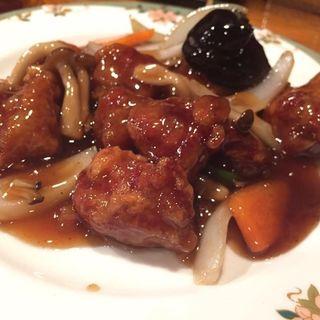 酢豚(博多担担麺 大吉)