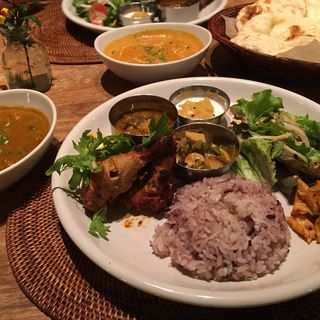 豚肉と鶏肉のキーマカリー(インディアンカフェ phool (フール))