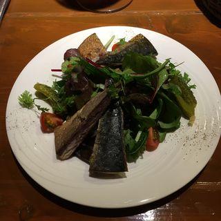 鯖の薫製 サラダ仕立て(きっしゅや )