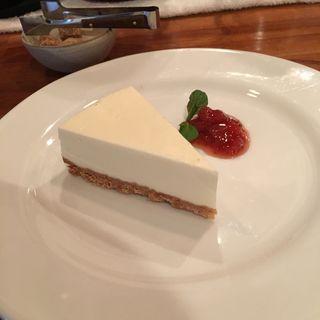 レアチーズケーキ(CAFE JI*MAMA (ジーママ))