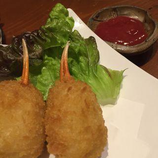 カニクリームコロッケ 2ケ(遊食彩宴居酒屋 Jambo家 (ジャンボヤ))