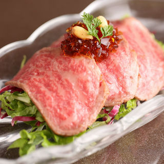 ローストビーフ(すき焼割烹 吉澤)