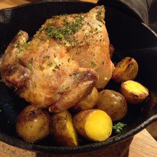 ひな鶏のロースト(クラフトビアハウスモルト 福島店 )