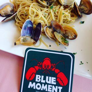 ■ボンゴレビアンコ(あさりとにんにくの白ワイン)(ブルーモーメント (BLUE MOMENT))
